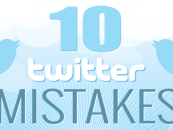 10 erreurs courantes sur Twitter #infographie