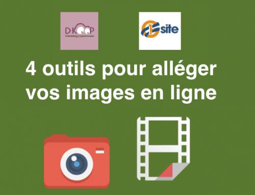 4 outils en ligne pour alléger vos images