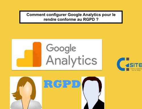 Comment installer Google analytics avec TAG manager et le rendre conforme au RGPD