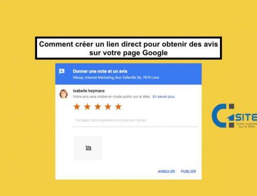 Comment créer un lien pour avoir des avis positifs sur votre page Google Map