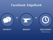 Comprendre le newsfeed et l'edgerank de Facebook ? #infographie