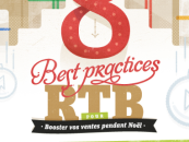 Infographie : 8 pratiques RTB pour booster vos ventes de Noël