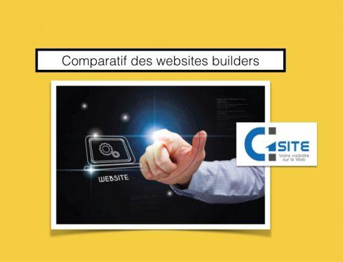 Comparatif des websites builders pour créer son site