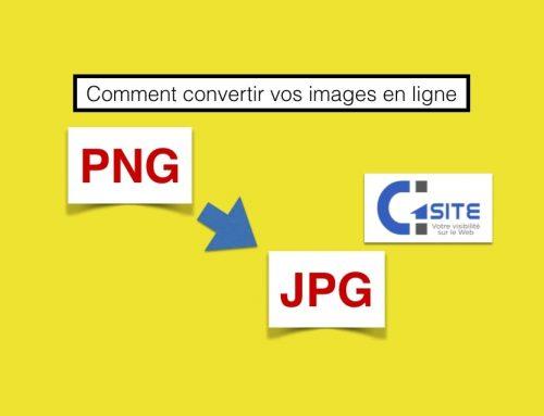 Comment convertir vos images en ligne