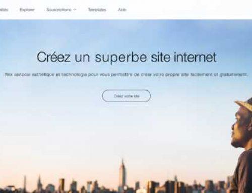 Comment créer un site Internet avec WIX ?