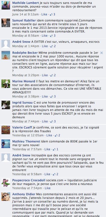 critiques-page-facebook