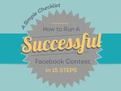 Faire un concours sur Facebook – Infographie