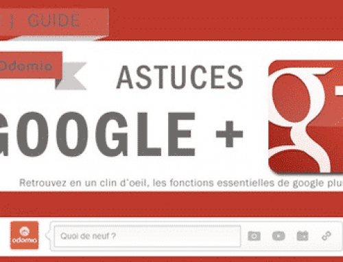 Les bases de Google+ #infographie