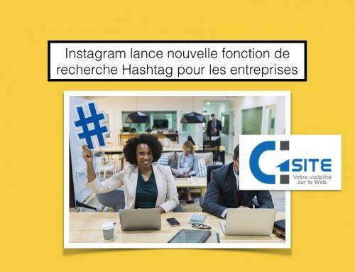 Instagram lance nouvelle fonction de recherche de Hashtag pour les comptes business