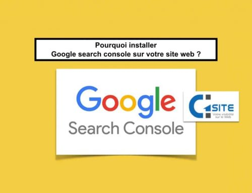 Pourquoi installer Google search console sur votre site web ?