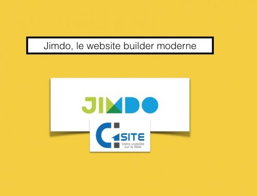 Jimdo, le website builder moderne