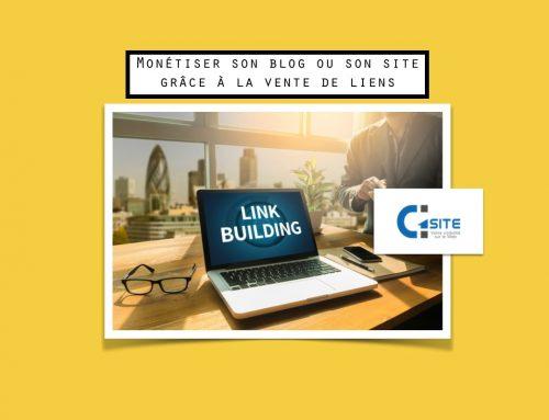 Monétiser son blog ou son site grâce à la vente de liens