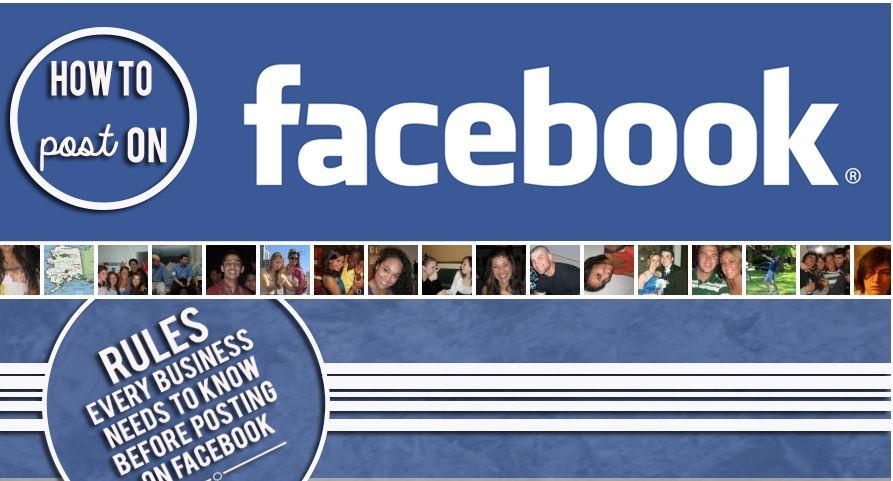 Publier correctement sur Facebook