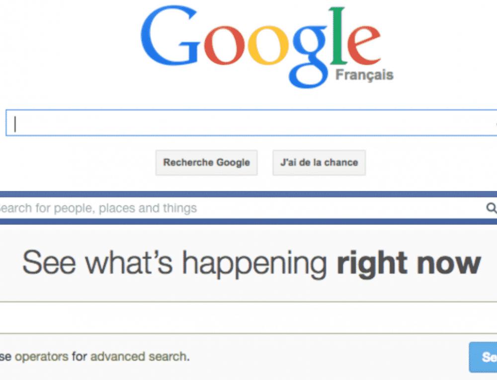 Tirer le meilleur parti des moteurs de recherche de Google, Twitter, Facebook