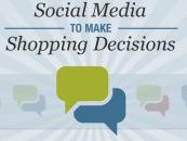 Infographie : L'utilisation des médias sociaux pour l'achat en ligne