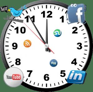time-social-media