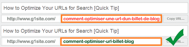 optimiser un billet de blog